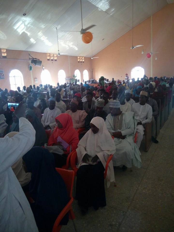 brothers and sisters rejoice with Christians, visit to churches in kaduna