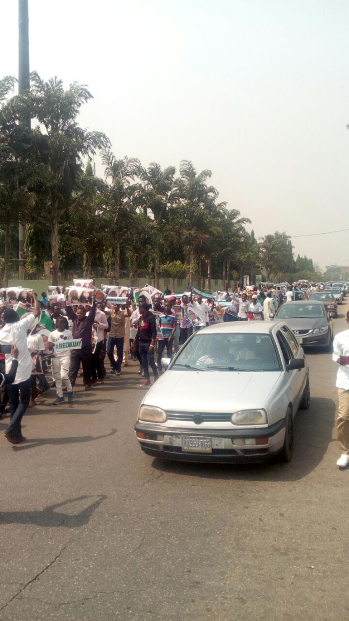 free zakzaky protest by afimn in abj
