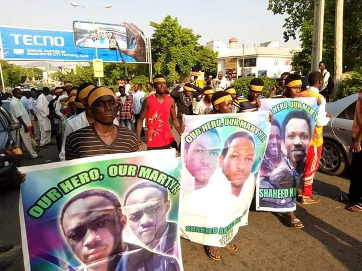 free zakzaky in abuja on wed 14th nov 2018