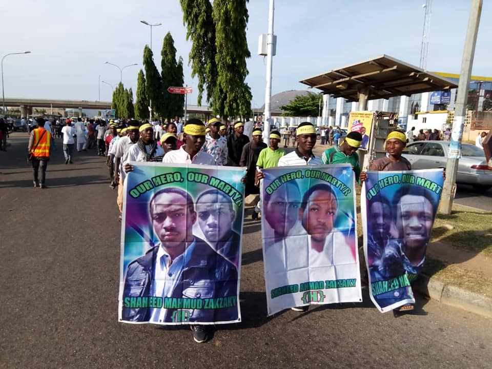 free zakzaky in abuja on thurs 15th nov 2018