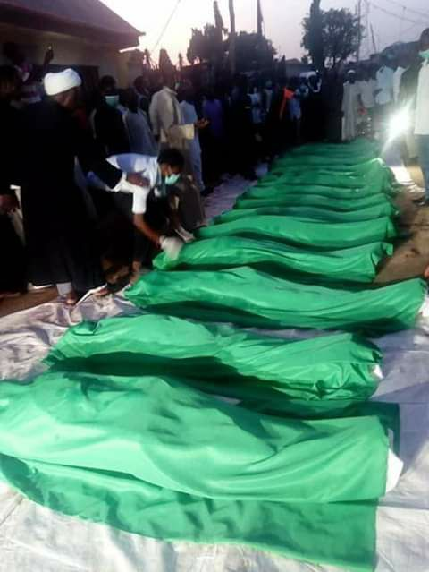 army injured and killed scores in abuja in  3 days from mon 29 oct 2018