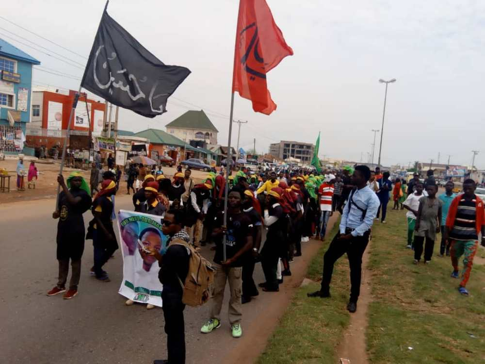 army attacked peaceful arbaeen trekking in abuja on mon 29 oct 2018