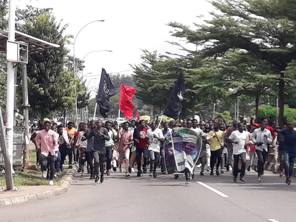 arbaeen trek in abuja on friday 18th of sept 2019