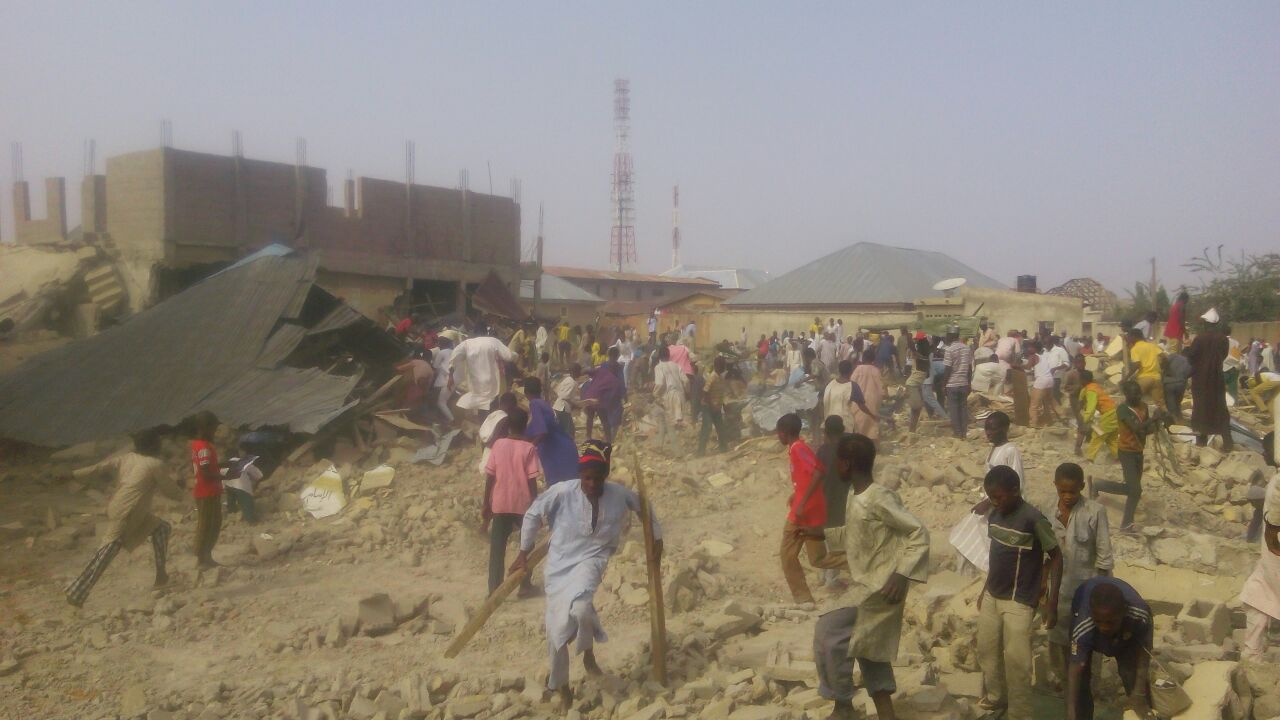 IMN schools demolished by elrufai