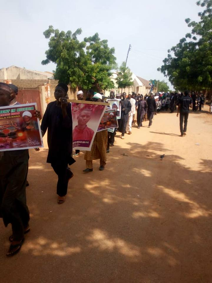 ashura procession 1440 in daura