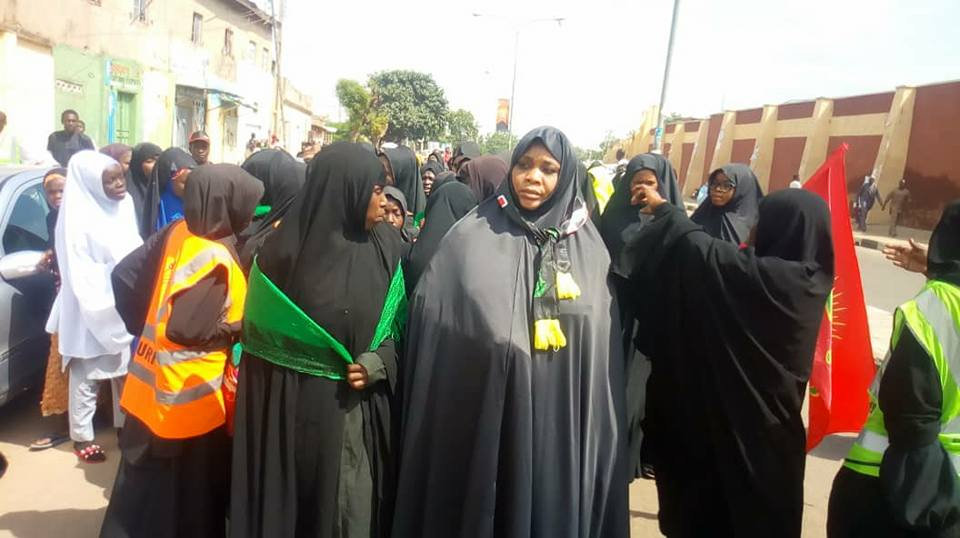 ashura1440 mourning procession in kano on 10 muharram