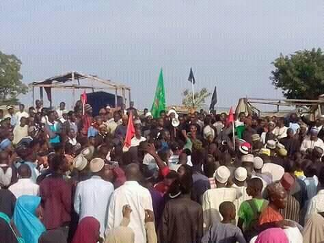 police attack ashura1440 mourning procession in zaria