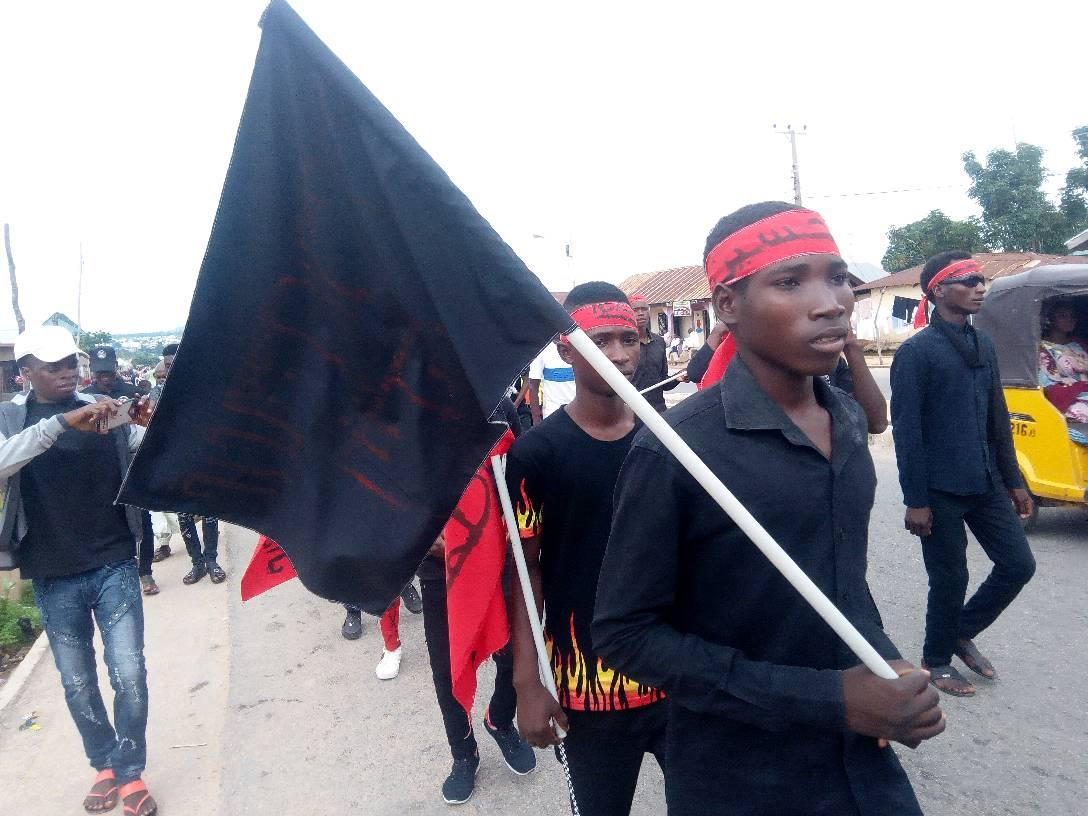 ashura processions in jalingo on Tues sept 10 2019, 11/1/1441