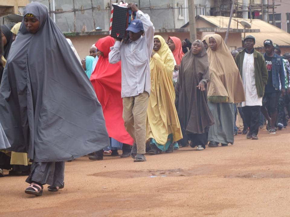 ashura processions in jos on Tues sept 10 2019, 11/1/1441