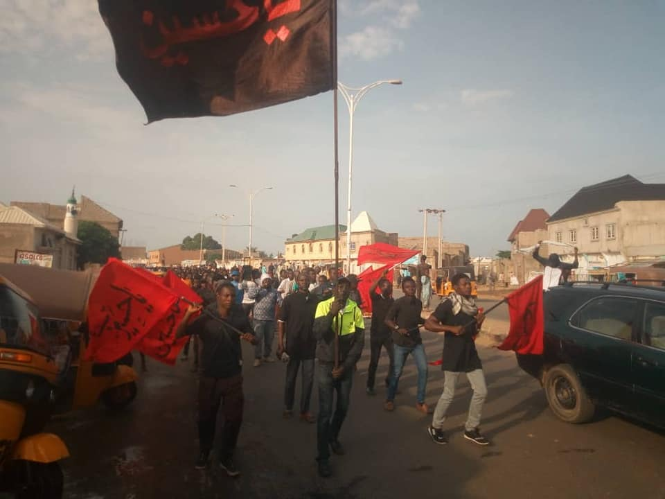 ashura processions in kano on Tues sept 10 2019, 11/1/1441