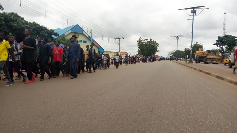 ashura processions in lafia on Tues sept 10 2019, 11/1/1441