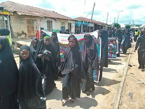ashura processions in yola on Tues sept 10 2019, 11/1/1441