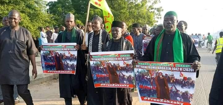 arbaeen trek from kano axis on 6th oct 2020