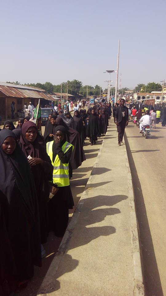 ashura 1439 peaceful procession in Dutsin-ma, katsina on 10th muharram