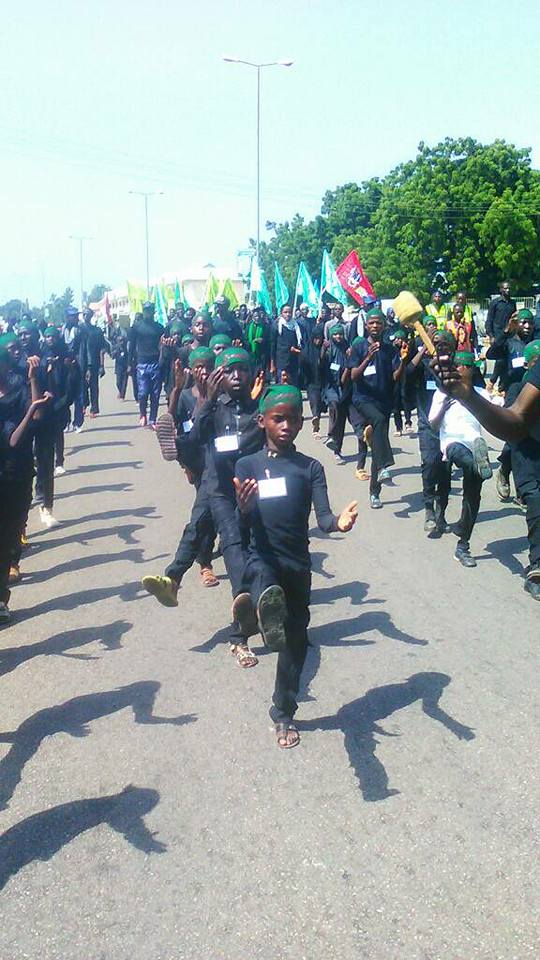 ashura 1439 peaceful procession in gombe on 10th muharram