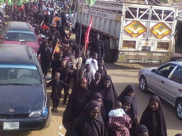 ashura 1439 peaceful procession in illela on 10th muharram