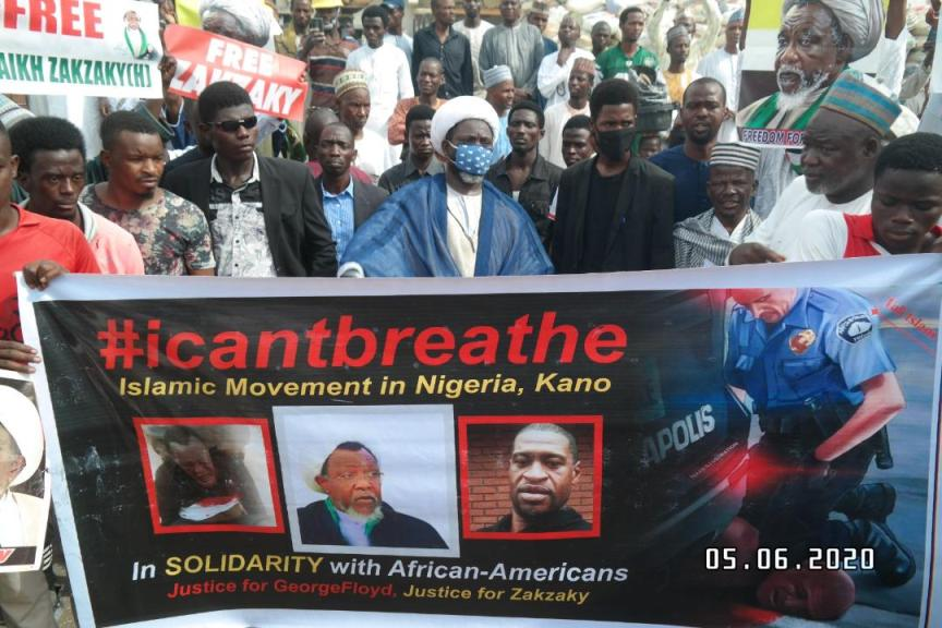 Islamic Movement condemns Floyd killing on friday in kano