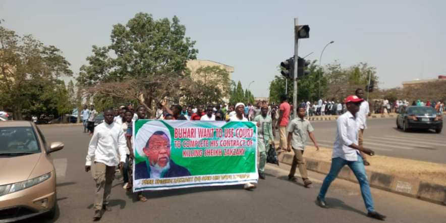 free zakzaky protest in abuja on tues 4 feb 2020