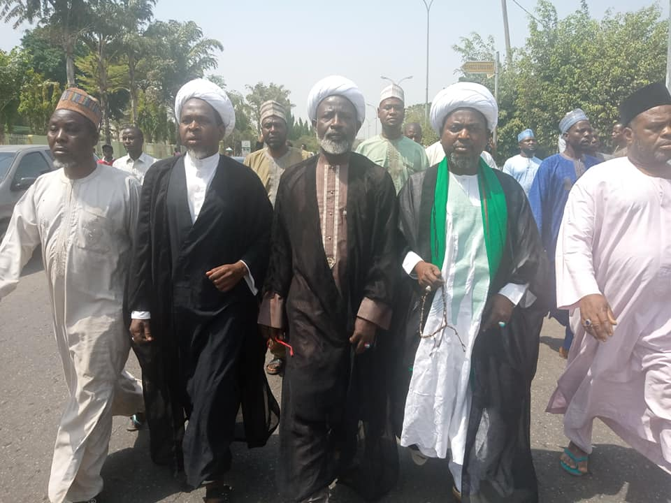 free zakzaky protest in abuja on thursday 6 feb 2020
