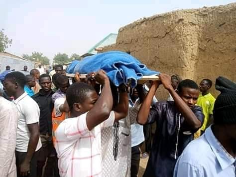 funeral of muhammad ishaq in sokoto on sat 11th of Jan 2020