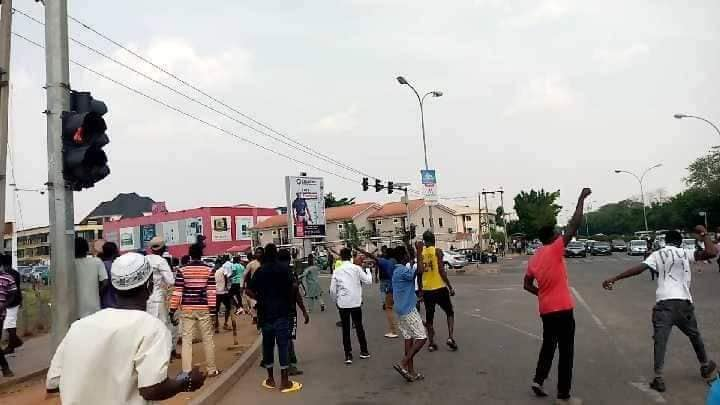 police attacked pro zakzaky protesters in abj on 14 april 2021