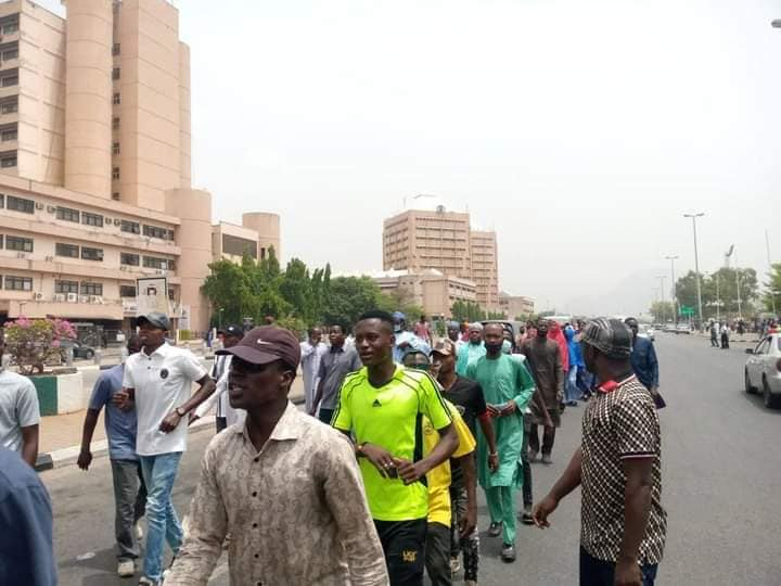 pro zakzaky protest in abj on 16 march 2021