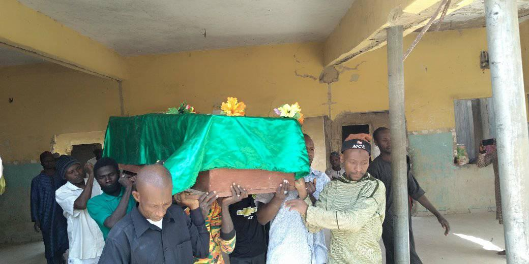 funeral of hasan muhammad shot by police killed pro zakzaky protesters in abj on tues 26 jan 2021