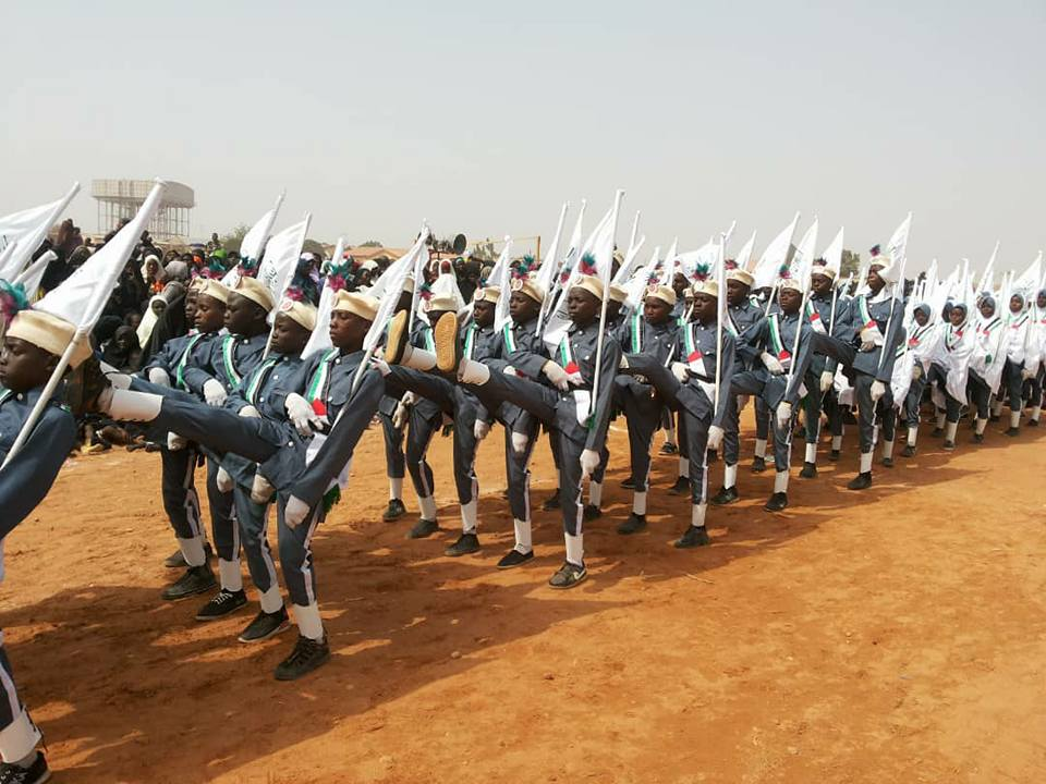 guards parade competition in katsina 1 dec 2018