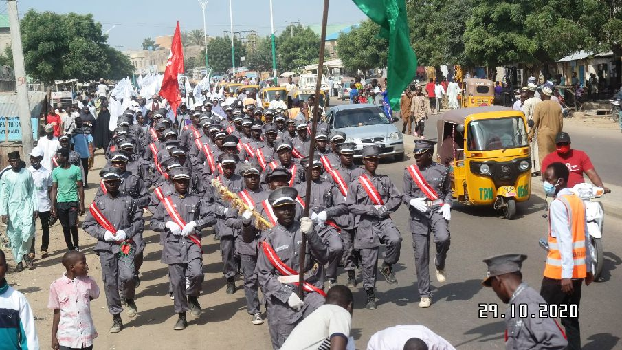 maulid procession in kano on 12 th r/auwwal 1442 /29  oct 2020