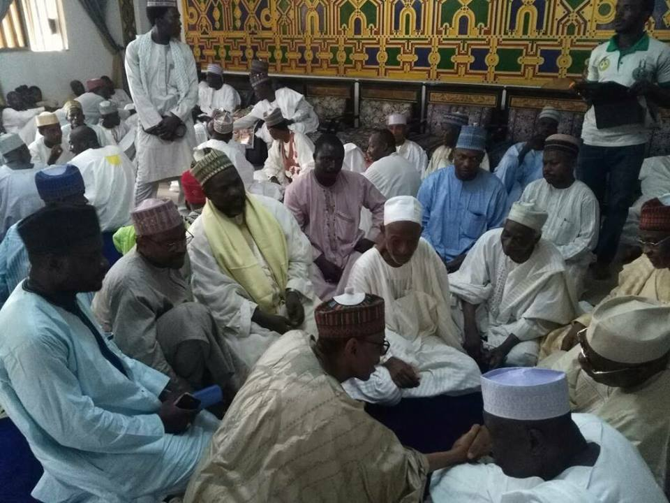 condolence visit to danmasani family in kano