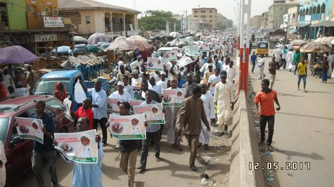 free zakzaky by students in kano at 66
