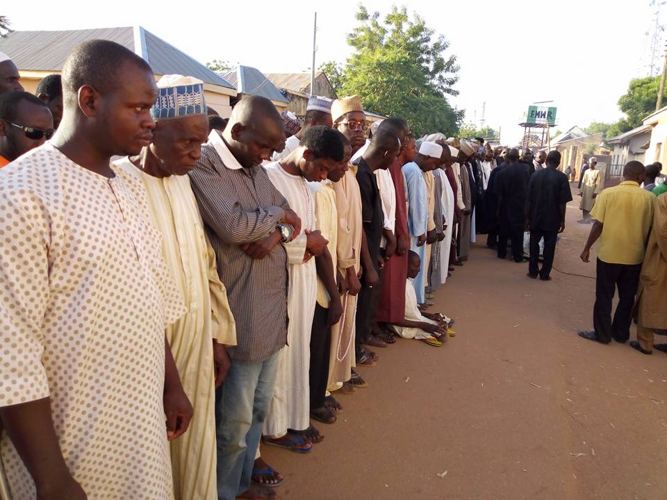 funeral of aisha azare killed by police in kano
