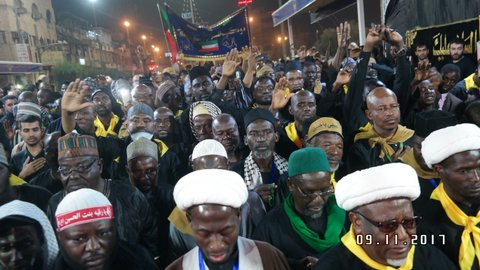 Visit of Karbala from Nigeria, 2017