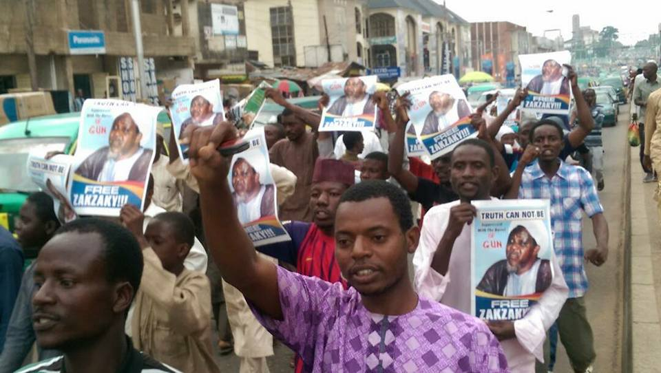 free zakzaky in kaduna after case was dismissed