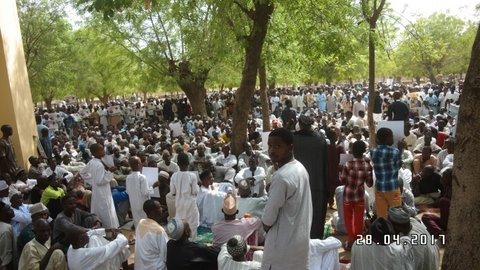 protest in kano against sheikh zakzaky detention