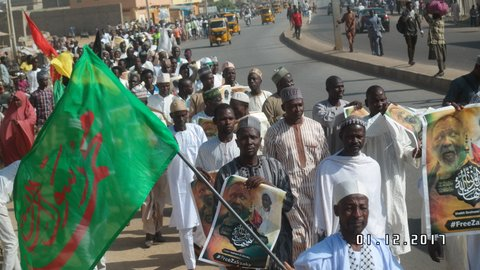 maulid procession in kano, 2017