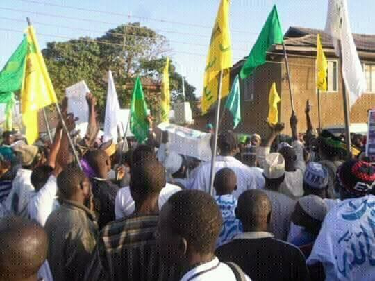maulid procession 1439 in zaria