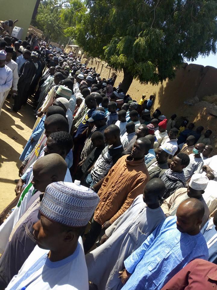 funeral of Shahid aminu ibarhim 