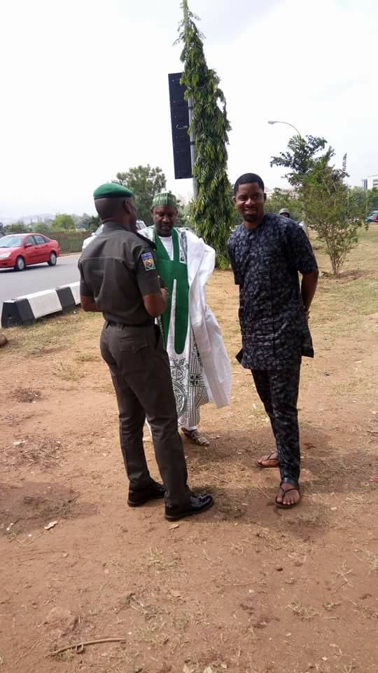 free zakzaky protest abuja on 13th April 2018 deji adeyanju arrested