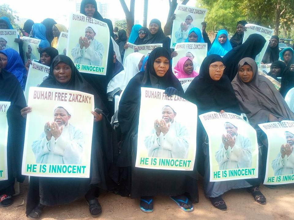 sit Out to free zakzaky protest in  abuja on 7 march by concerned Nigerians