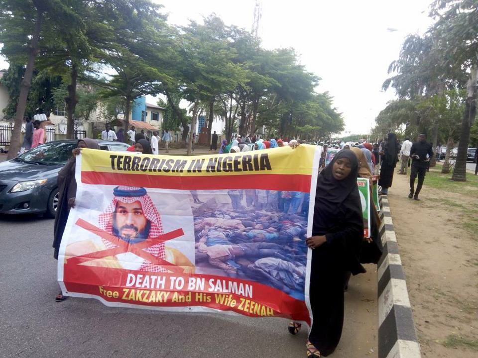 free zakzaky protest in abuja on 22 may 2018
