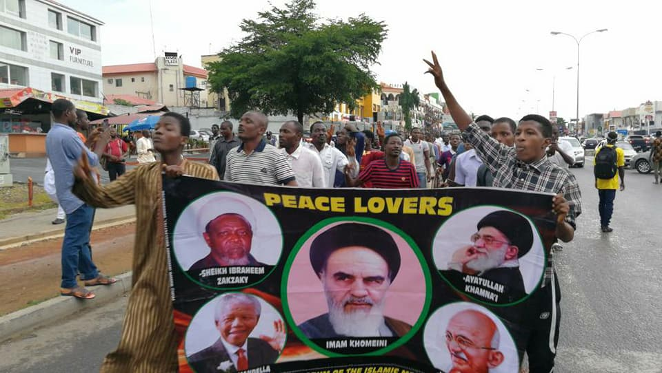 free Zakzaky in abuja on 7th of june 2018