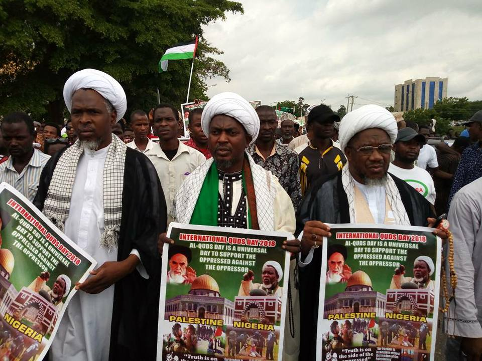 intl quds day in abuja on friday the 8th june 2018