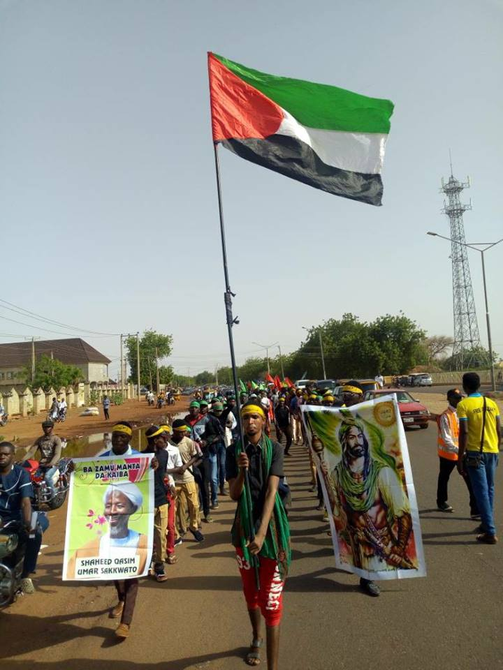 intl quds day in Sokoto on friday the 8th june 2018