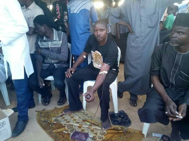 ashura majils 1440, blood donation in bauchi