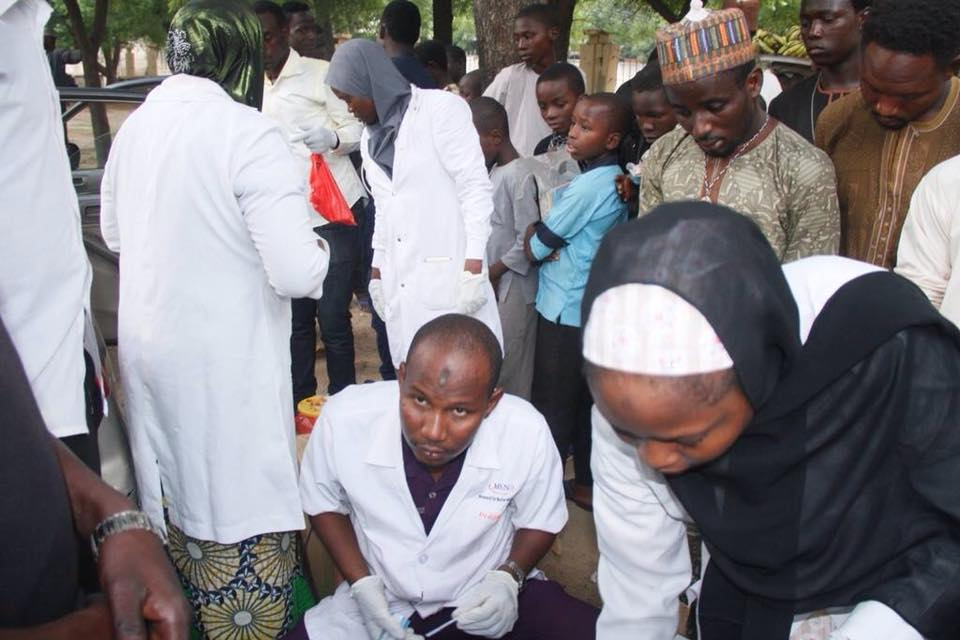 ashura majils 1440, blood donation in kano