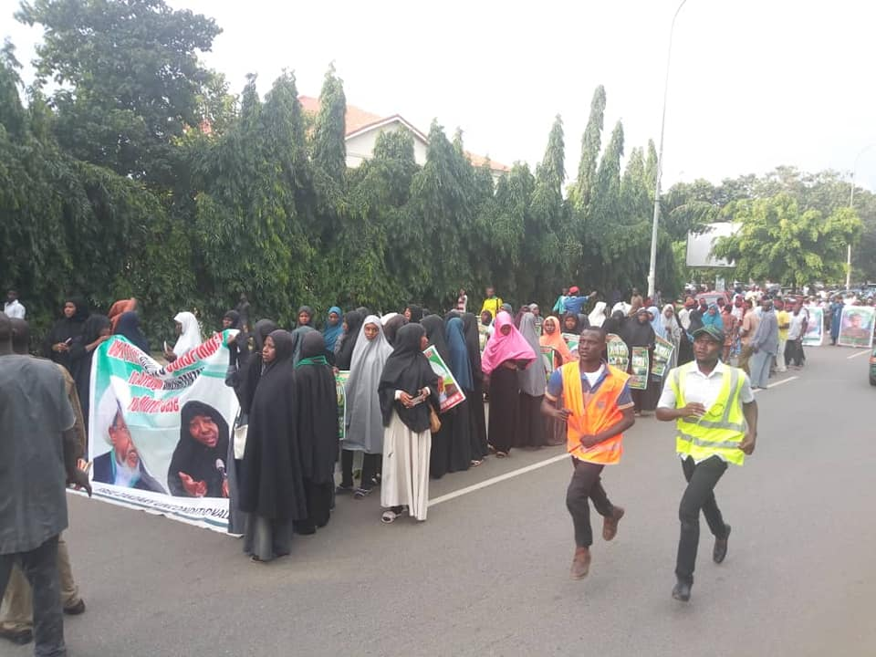 free zakzaky in abuja on thurs 16th august 2018