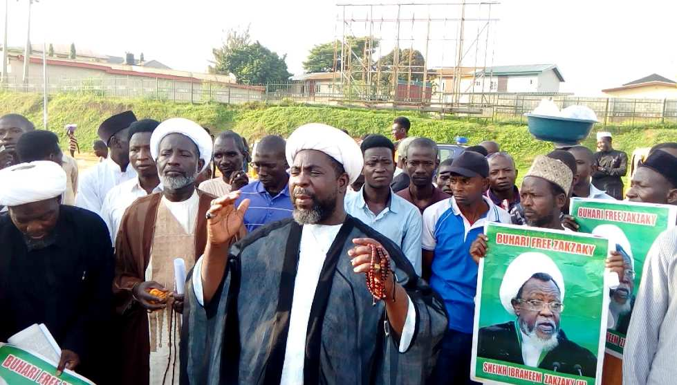 free zakzaky protest in abuja on monday 8th oct 2018