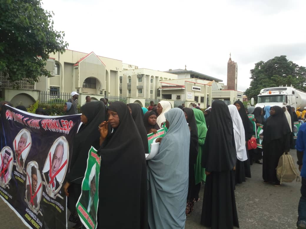 free zakzaky in abuja on monday 3rd september 2018