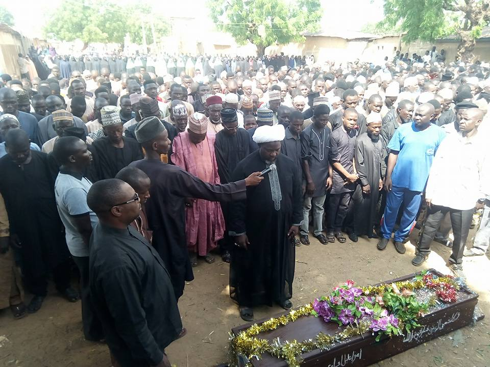 ali sadullahi shot in potassium laid to rest on 2 Oct 18